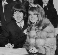 pinterest pattie boyd harrison and george harrison marriage | George Harrison | Music's Most Extravagant Weddings | Comcast.net ...
