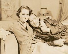 Life long best friends Gertrude Lawrence & Noel Coward
