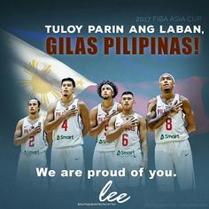 Keep the fire burning! Heads up, life is a game! You win some, you lose some. What matters, is the  will to get up and use that winning PUSO to try again! Salamat, Gilas Pilipinas! #LeeBoutiqueHotel is proud of you!