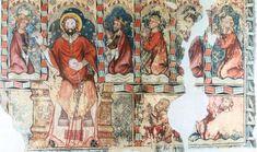 Pintura gótica en Aragón: 2) Estilo Francogótico o Gótico Lineal. Painting, Gothic Art, Mural Painting, Header, Scene, Style, Spain, Painting Art, Paintings