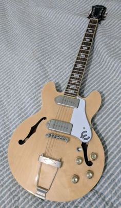 Epiphone Casino Coupe Hollow Body Electric Guitar – Natural