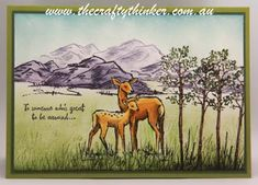 Stampin' Up!, In the Meadow, Occasions 2016, Watercolouring technique,