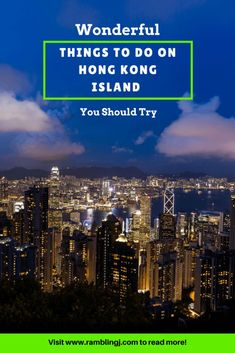 Hong Kong Island has skyscrapers, museums, shopping malls and restaurants. Here are some wonderful things to do on Hong Kong Island. Hong Kong Travel Tips, Taiwan Travel, China Travel, Macau Travel, Travel Advice, Travel Guides, Travel Hacks, Amazing Destinations, Travel Destinations