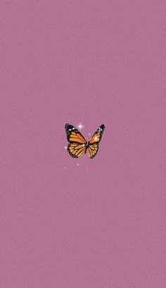 Butterfly Wallpaper Iphone, Iphone Wallpaper Vsco, Cartoon Wallpaper Iphone, Mood Wallpaper, Iphone Background Wallpaper, Retro Wallpaper, Homescreen Wallpaper, Phone Wallpapers, Wallpaper Quotes