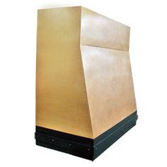 custom bronze range hood Texas Lightsmith Model#1, G