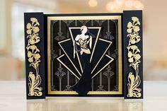 Art Deco by Tattered Lace brings you a new beautiful range of Art Deco dies to use for every occasion.   For more information visit: www.tatteredlace.co.uk