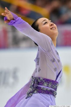 浅田真央、笑顔で「ただいまでーす」 復帰戦のジャパンオープンで1位(画像集)