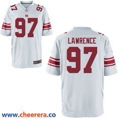 a74717a7a Men's New York Giants #97 Dexter Lawrence White Vapor Untouchable Stitched  NFL Nike Limited Jersey