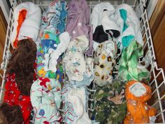 Cloth Diaper Stink: Stripping Cloth Diapers in the Dishwasher!