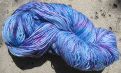 Sock Yarn  Superwash Wool Nylon Fingering Weight  by GraceandFiber, $17.25