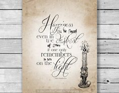 INSTANT DOWNLOAD  Happiness Can Be Found by SweetPeaTypography, $6.00