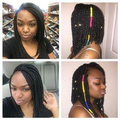 #bobboxbraids #HairAccessories