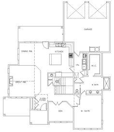 PM100 Main Floor Plan