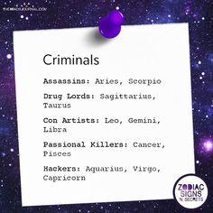 Criminals - https://themindsjournal.com/criminals/ #NumerologyLetters