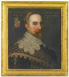 """PORTRAIT OF KING GUSTAVUS ADOLPHUS II OF SWEDEN"" (1594-1632) Swedish School, 17th Century -- Sotheby's"