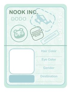 I created a passport layout for my New Horizons journal that I'm using to document my island. I wanted to share it here in case anyone else would like to use it! Animal Crossing Memes, Animal Crossing Pocket Camp, Sketchbook Inspiration, Journal Inspiration, Best Funny Images, Origami, Kawaii Chibi, Bullet Journal Ideas Pages, Tecno