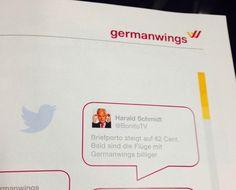 Bis ins Bordmagazin von GermanWings
