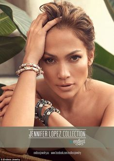 She makes jewelry too!:This week the Parker actress also debuted new bracelets for her Endless collection.The ex-girlfriend of Casper Smart looked radiant in the photo shoot where she appeared to be almost naked.