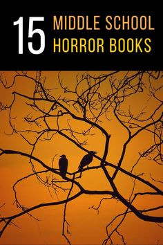 Looking for middle school horror books! Gotcha covered! Here's a list of thrilling, chilling horror books for middle grade readers to reach for this spooky season. | horror | horror books | horror books for middle school | middle grade | middle grade horror