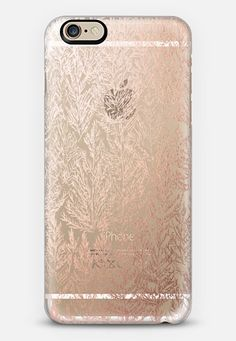 Casetify iPhone 7 Case and Other iPhone Covers - SNOW PINES(ROSE GOLD) by KANIKA MATHUR | #Casetify