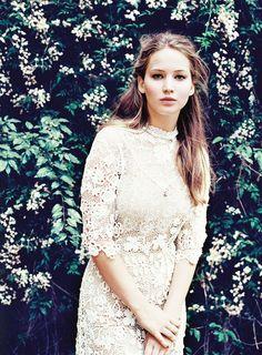 Jennifer Lawrence taken by  Garance, La Mer Opale