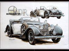 Коллекция картинок: Vaclav Zapadlik. Ретро-автомобили