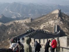 Great wall near Beijing, China #travel #architecture