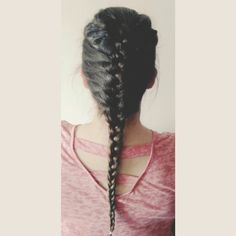 Braid - hairstyle to work. ;) #braid #hairstyle #work