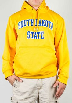 Yellow Hoodie by Under Armour. Jackrabbit Central ddf53a5288
