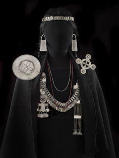 Mapuche jewelry - Chile - 19th century