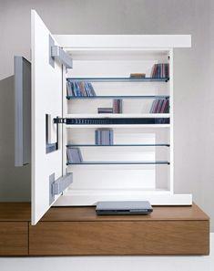 Sala de estar. Mobiliário para TV