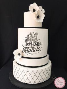 Wedding cake by Dani Rollemberg