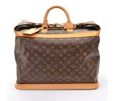 Louis Vuitton Monogram Canvas Cruiser 45 Large Travel Bag