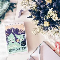 At the start of the month I read and absolutely LOVED this book: Uprooted by Naomi Novik. It'd been recommended in the past few months here on Insta by a few people (including @weereader, @bokhjerte and @sey_books), and it did not disappoint. It was SO beautiful! As I think about it now it still brings a goofy smile to my face. A lot of fantasy I read tends to feel epic in terms of world-building and plot. What I loved about Uprooted is that it was a bit of the opposite: the world felt…