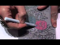 Coloring on Vellum with Faber-Castell Products!! =) - YouTube
