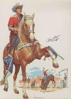 Loved Roy Rogers as a kid and his amazing horse Trigger