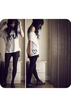 This is Bubbi clothing!! I wanna get this top, and its soo cute and edgy with this outfit! I adore