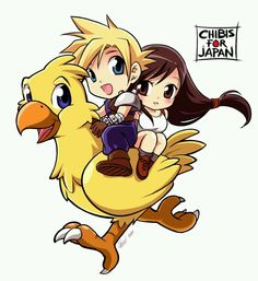 Final Fantasy VII - Cloud Strife x Tifa Lockhart - Cloti