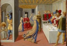 Benozzo Gozzoli, The Feast of Herod and the Beheading of Saint John the Baptist