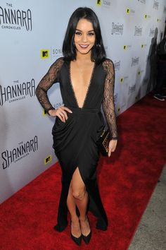 Actress Vanessa Hudgens attends the series premiere party for 'The Shannara Chronicles' On MTV at iPic Theaters on December 4, 2015 in Los Angeles, California.
