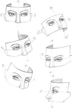 Figure Drawing Eye Study