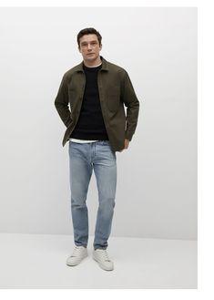 Khaki Jacket, Bomber Jacket, Mango, Normcore, Pullover, Fitness, Jackets, Style, Products