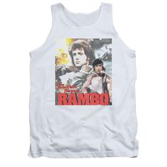 RAMBO:FIRST BLOOD/THEY DREW COLLAGE TANK