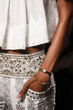 Isabel Marant SS 2013.  I want to walk off the plane in this.