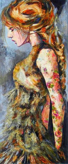 Céline Brossard, 1960 | Abstract Mixed media painter | Tutt'Art@ | Pittura * Scultura * Poesia * Musica |