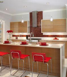 Comptoir de quartz sur pinterest - Cuisine ouverte avec comptoir ...