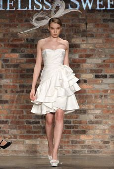 Melissa Sweet After Ceremony Find This Pin And More On Short Wedding Dresses
