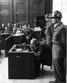 Witness For The Prosecution, Nuremberg Trials, Lieutenant General, Nation State, Wwii, Monsters, Leadership, Crime, Death