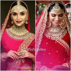 😊almost same. Thnx For remembering me about it 😀. Indian Wedding Makeup, Indian Bridal Outfits, Indian Bridal Lehenga, Indian Bridal Fashion, Indian Bridal Wear, Bridal Dresses, Indian Wear, Indian Sarees, Bridal Poses