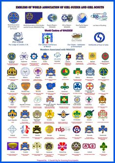 Scouting Encyclopedia WAGGGS Members around the World. They seem not to have included the next page (s). Girl Scout Swap, Girl Scout Leader, Girl Scout Troop, Boy Scouts, Girl Scout Badges, Brownie Girl Scouts, Girl Scout Cookies, Brownies Girl Guides, Brownie Guides